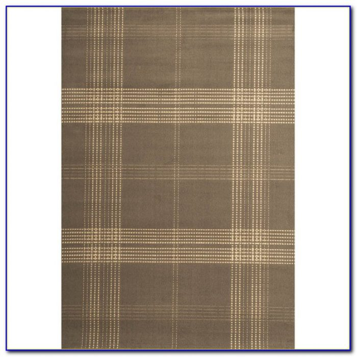 Blue Plaid Area Rug Rugs Home Design Ideas