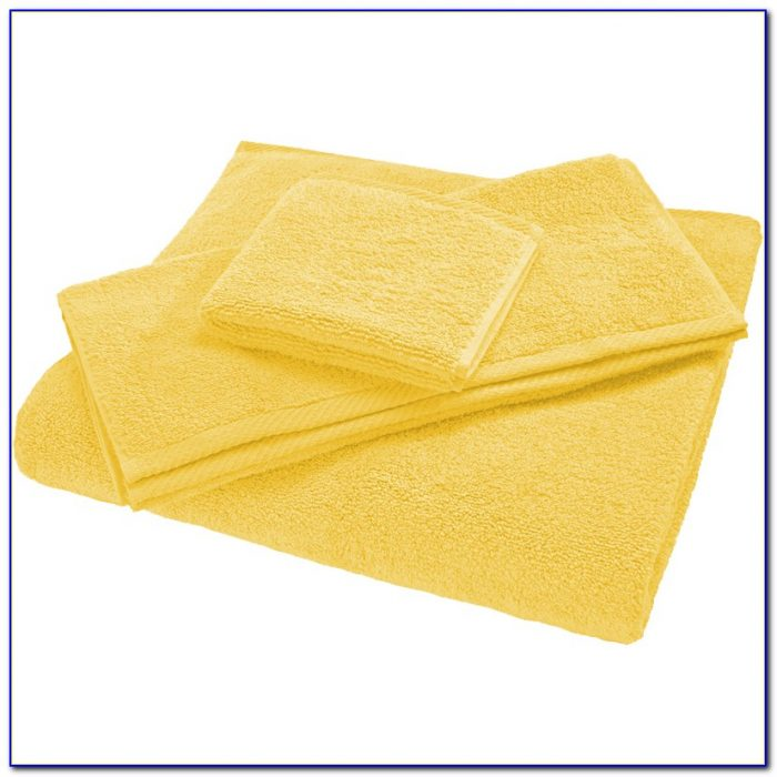 Reversible Bath Rugs Yellow