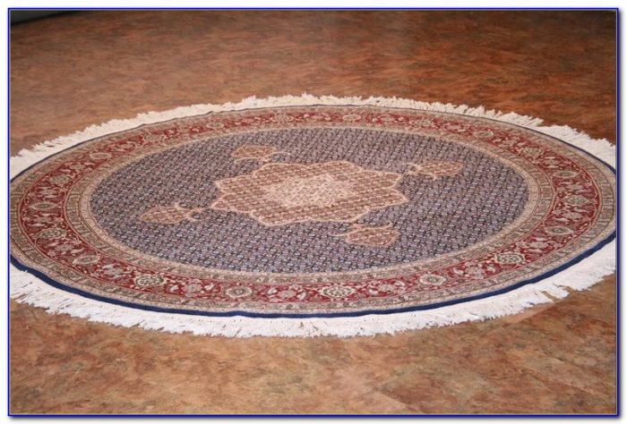 5 Ft Round Blue Rug Rugs Home Design Ideas