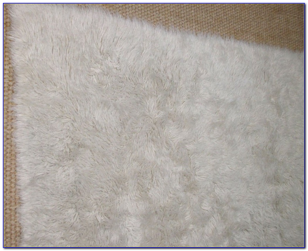 White Flokati Rug 8 215 10 Rugs Home Design Ideas