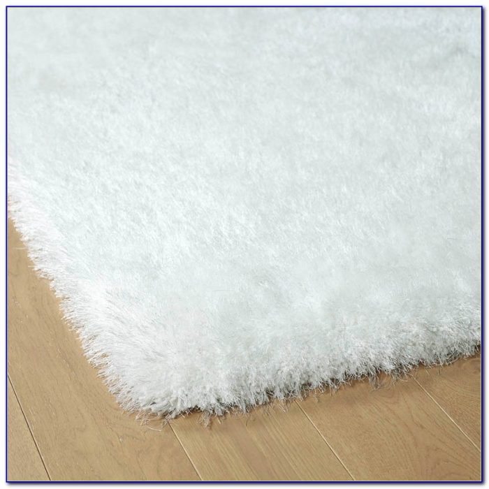 White Shag Rugs