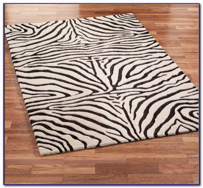 Zebra print area rug rugs home design ideas for Zebra rug ikea