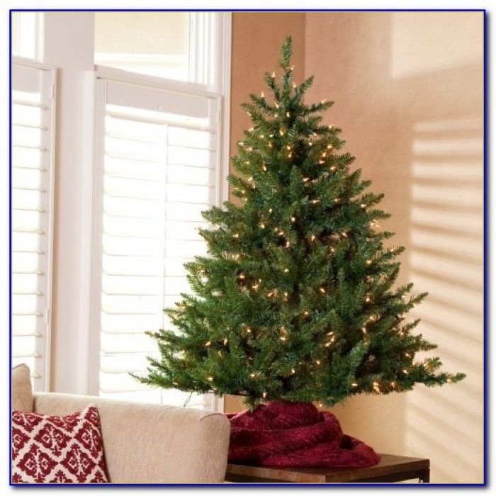 3 Foot Artificial Tabletop Christmas Trees