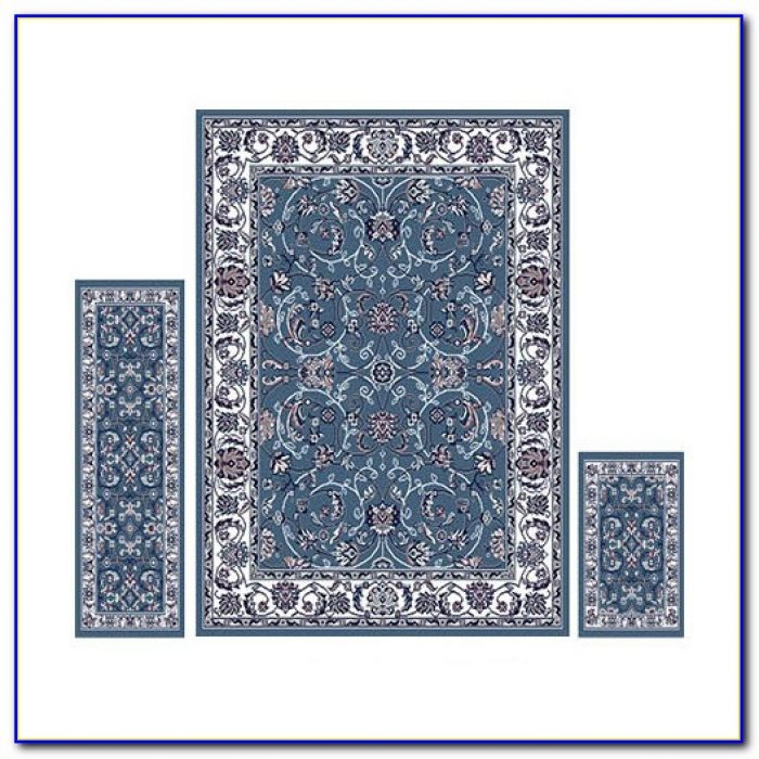 3 Piece Area Rug Set