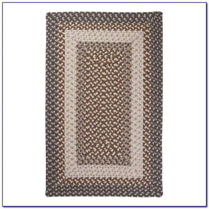 4x4 Square Braided Rugs