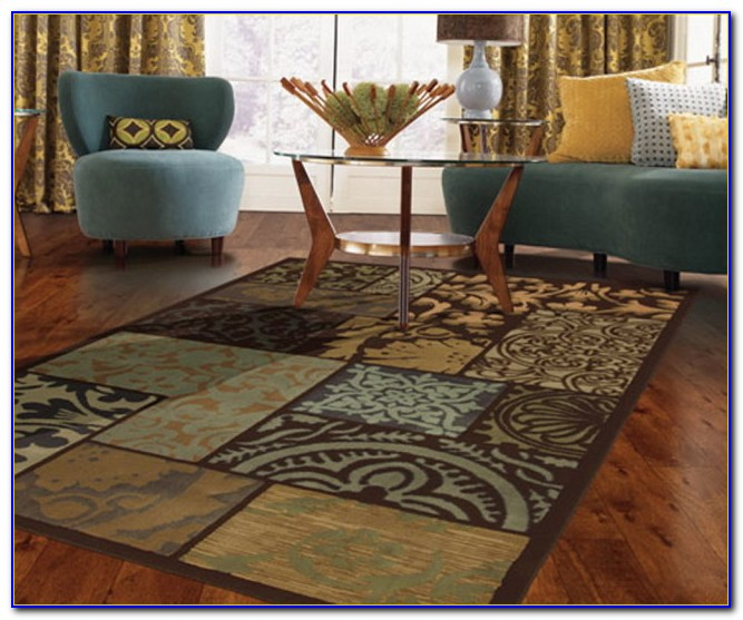 Throw Rugs Hardwood Floors: Area Rugs For Dark Hardwood Floors