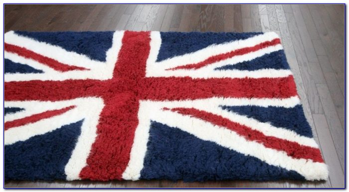 British Flag Bathroom Rug