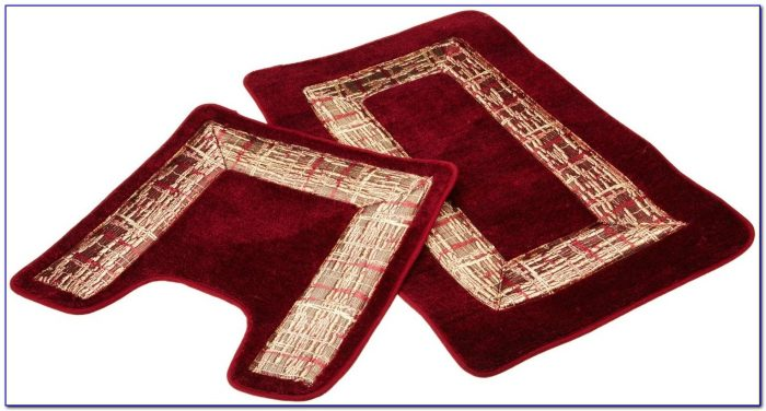 Burgundy Bath Towels And Rugs