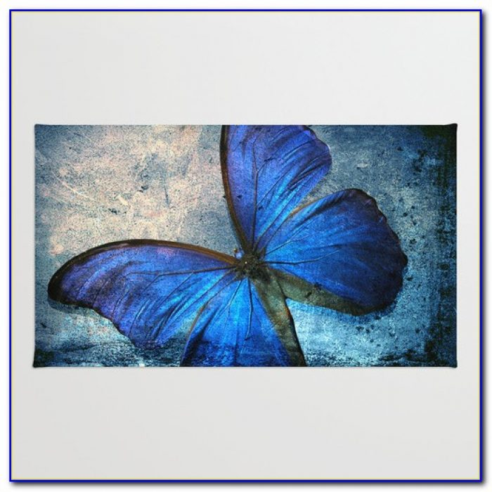 Butterfly Area Rug