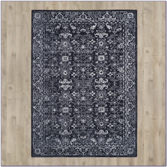 Charcoal And Yellow Area Rugs