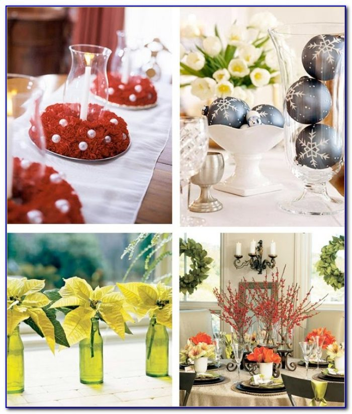 Christmas Table Decorations To Make