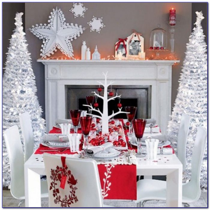 Christmas Tabletop Decorations Ideas
