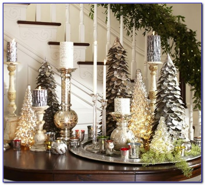 Christmas Tabletop Decorations Pinterest