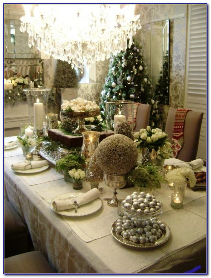 Christmas Tabletop Decorations Uk
