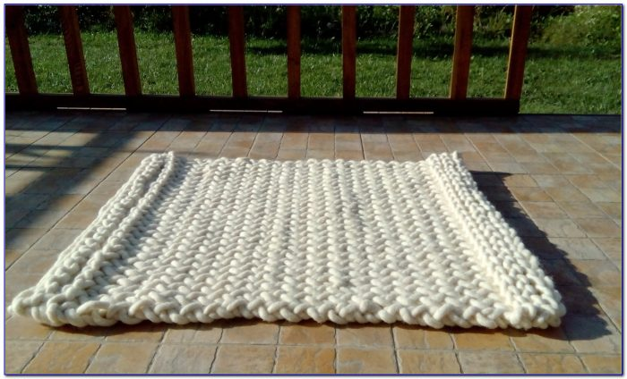 Chunky Knit Rug Uk