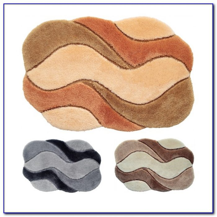 Designer Bath Rug Sets