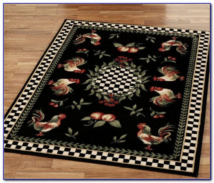 Rooster Print Area Rugs Rugs Home Design Ideas