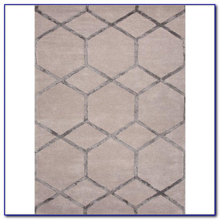 Grey Geometric Rug Uk