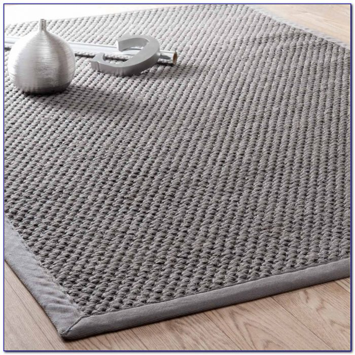 Grey Sisal Rug Runner