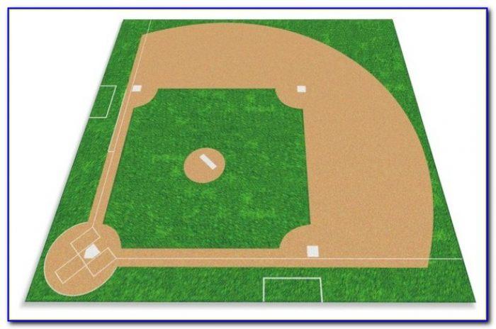 Baseball Diamond Area Rug Rugs Home Design Ideas