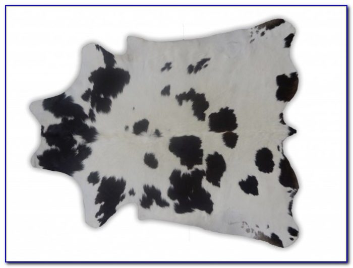 Large Grey Cowhide Rug