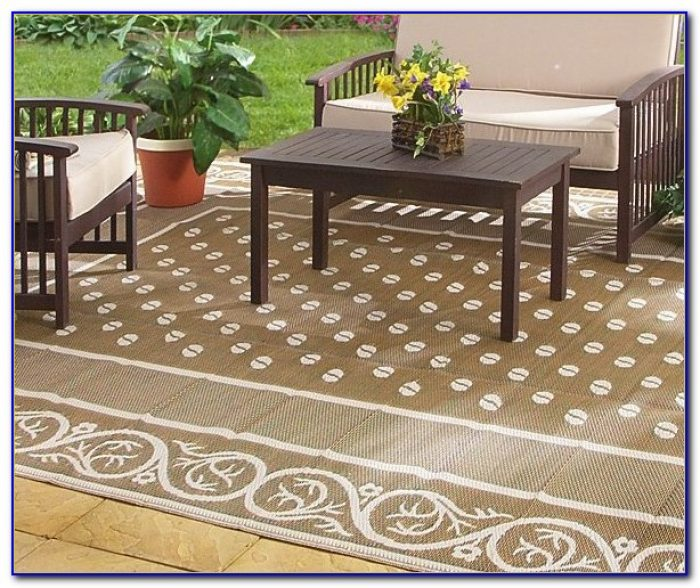 Outdoor Camping Area Rugs