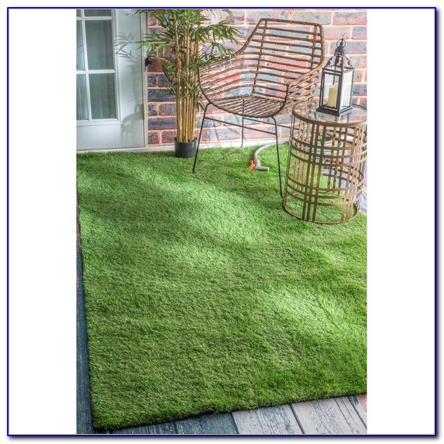 Outdoor Grass Carpet Rug