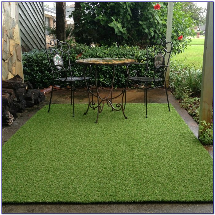 Outdoor Grass Turf Rug