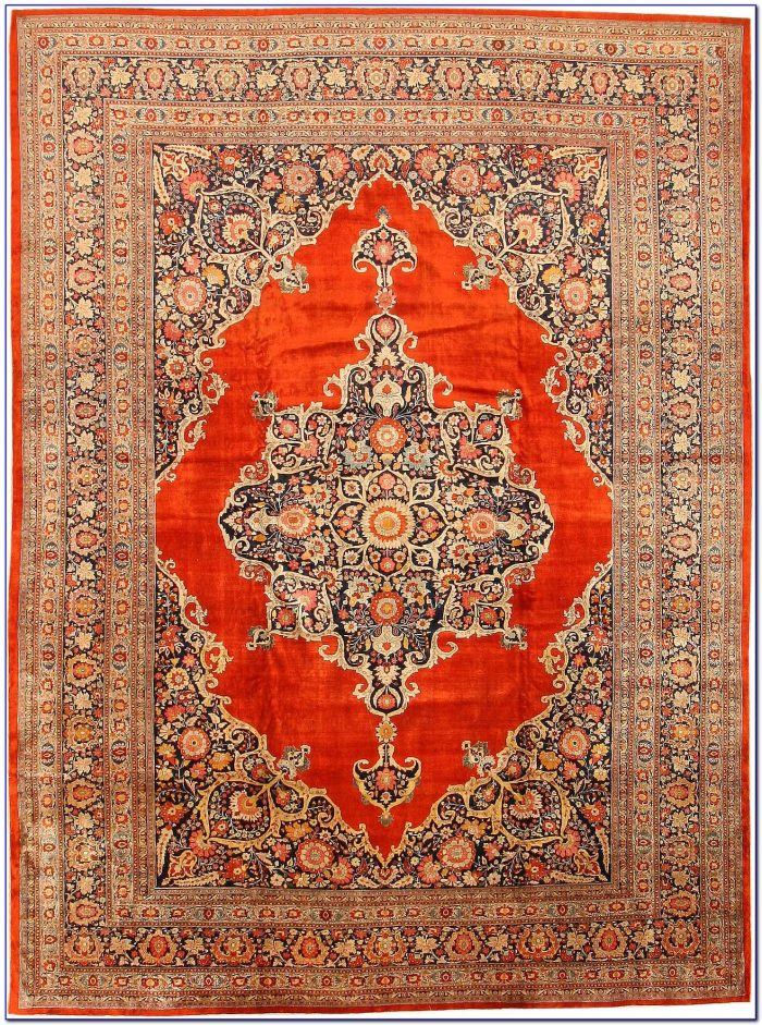 Persian Silk Rugs Handmade