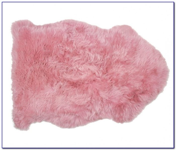Pink Sheepskin Rug Dunelm Rugs Home Design Ideas