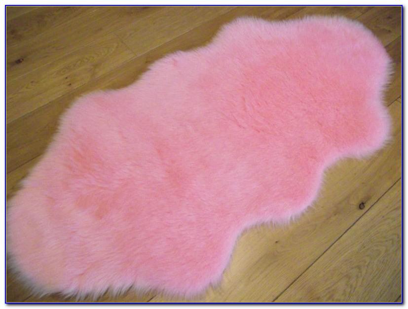 Pink Fluffy Rug Ebay