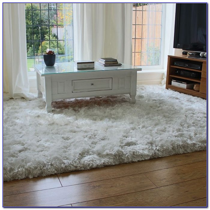Plush Off White Rug