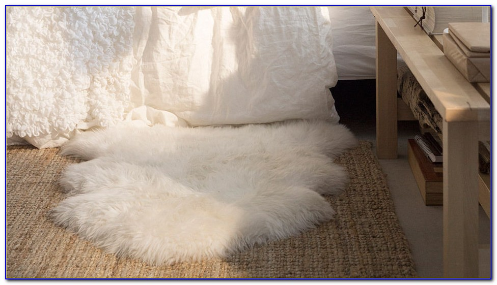 Real sheepskin rug ikea rugs home design ideas for Lambskin rug ikea