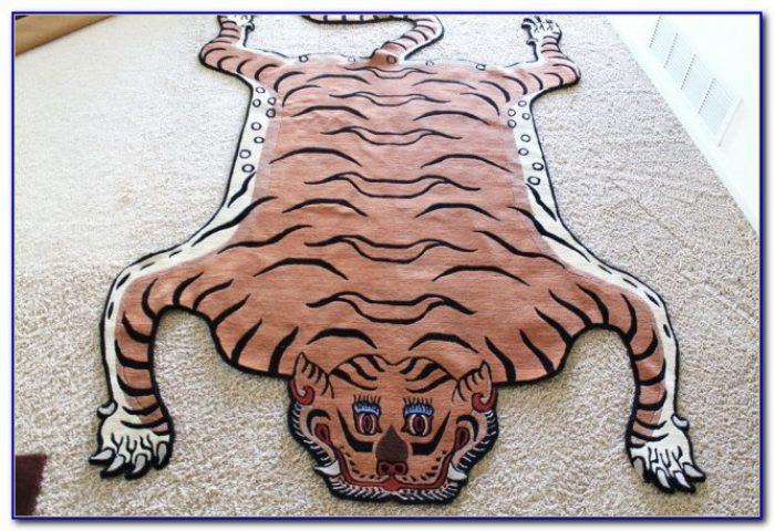 Tiger Skin Rug Book Rugs Home Design Ideas