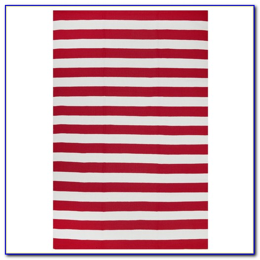 Red And White Striped Rug Runner Rugs Home Design