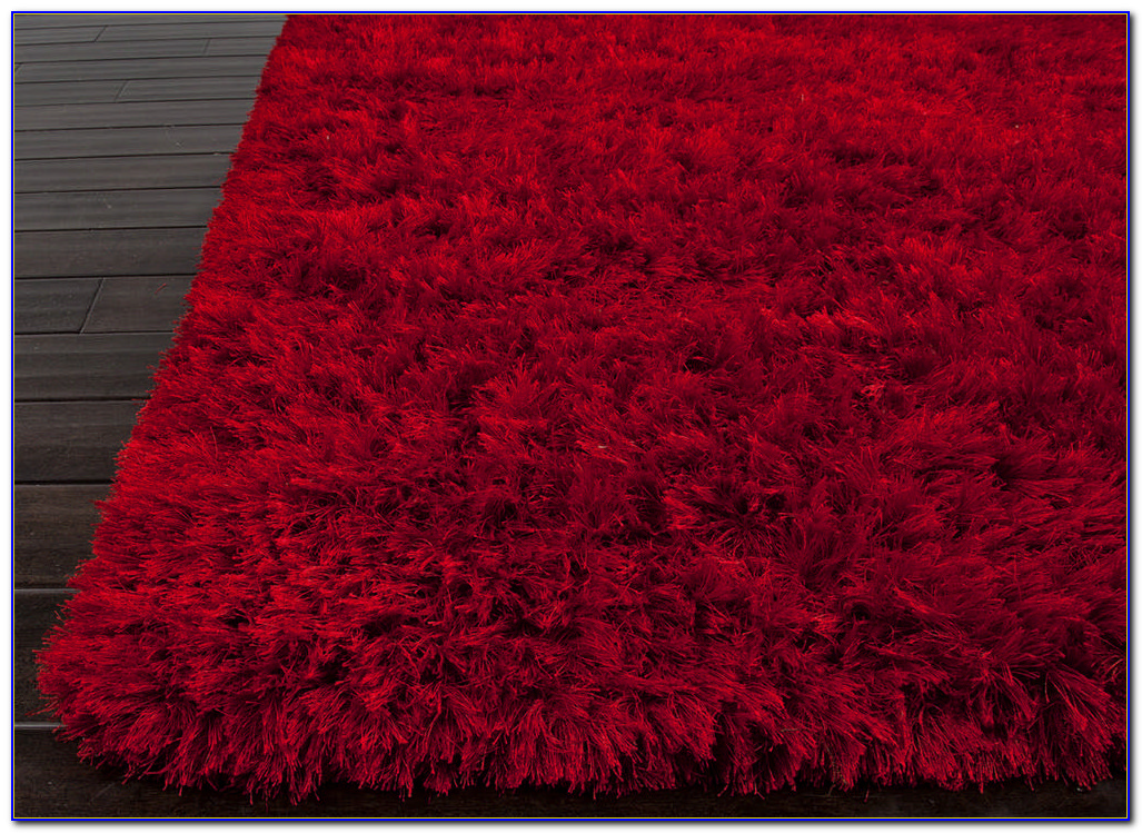 Red Shaggy Rug Amazon Rugs Home Design Ideas