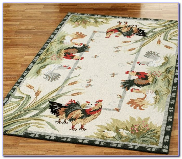 French Country Rooster Area Rugs Rugs Home Design