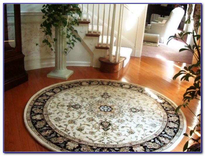 Round Entry Rugs
