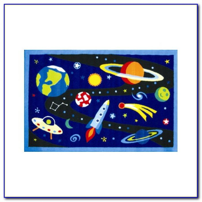 Outer space themed rugs rugs home design ideas for Outer space design