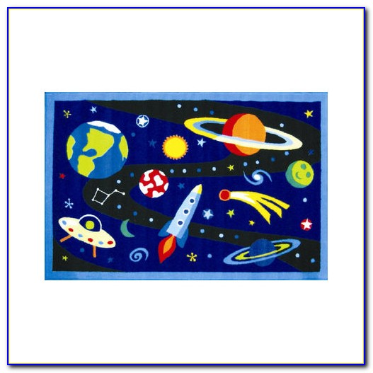 Rugrats outer space rugs home design ideas for Outer space industrial design