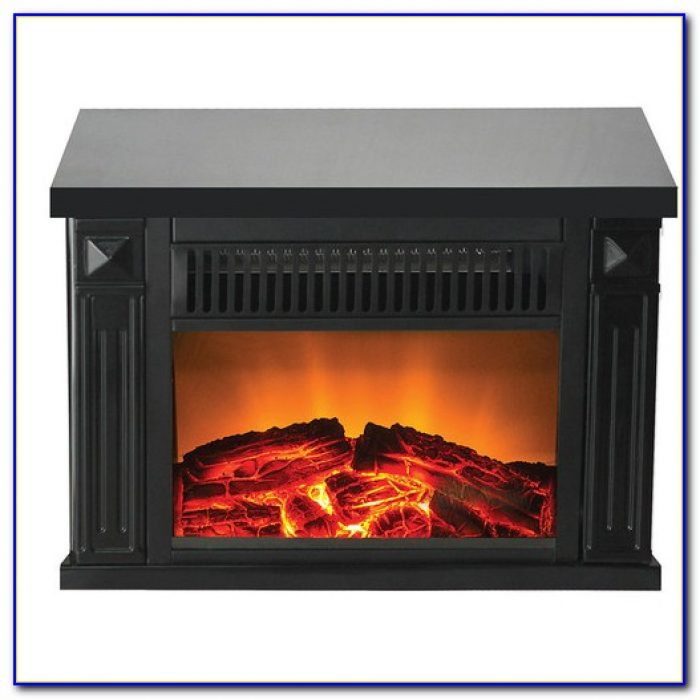 Small Table Top Electric Fireplace