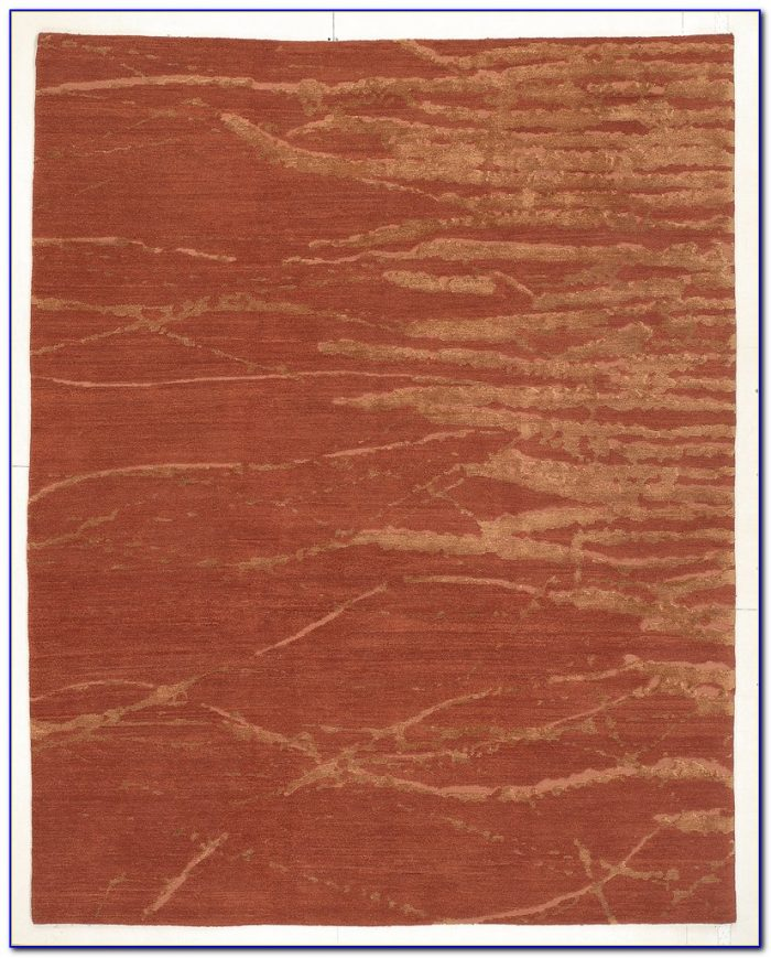 Solid Rust Colored Area Rugs