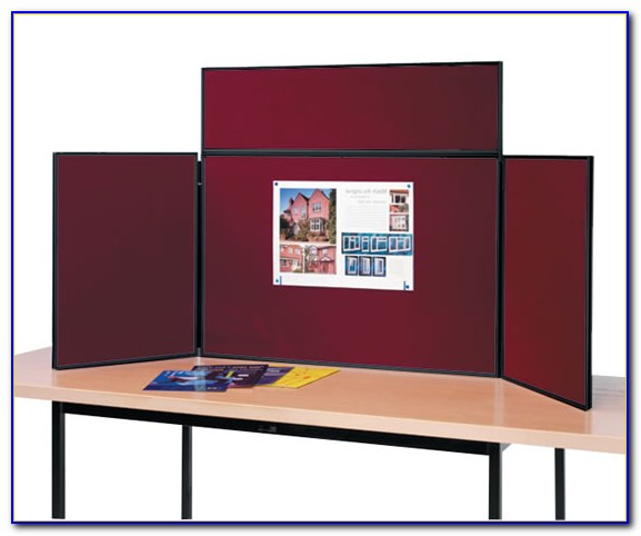 Table top display boards for trade shows tabletop home for Table top display ideas