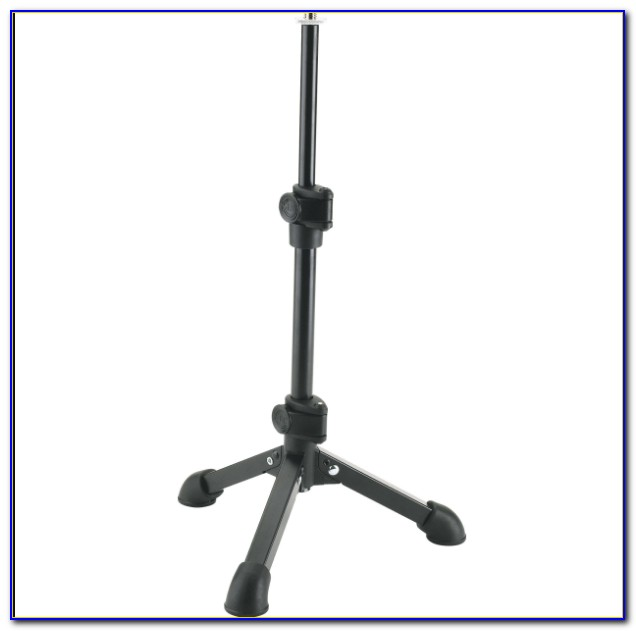 how to make a boom mic stand