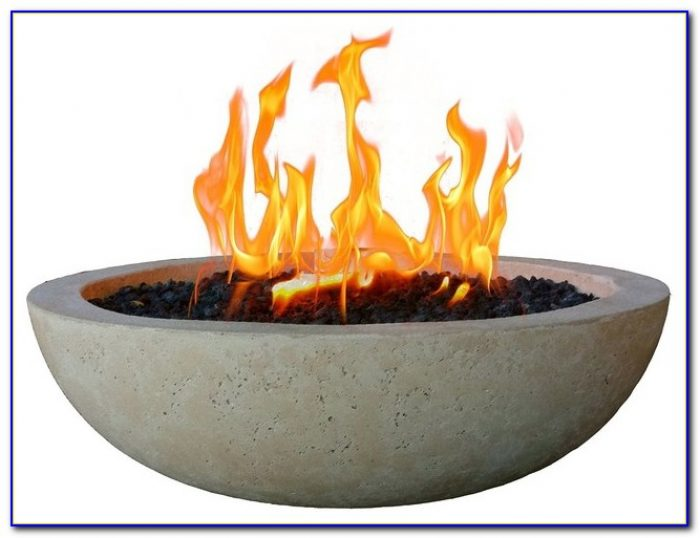 Tabletop Fire Bowl With Gel