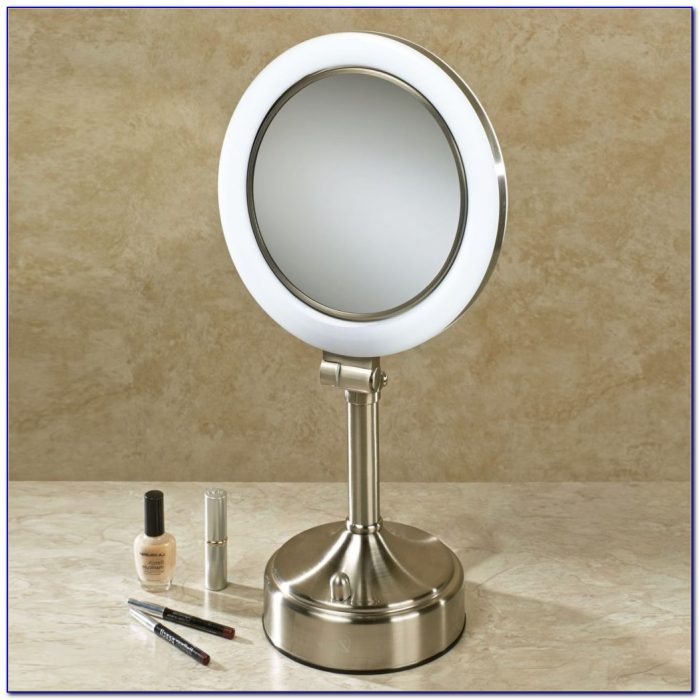 Tabletop Lighted Makeup Mirror 1003