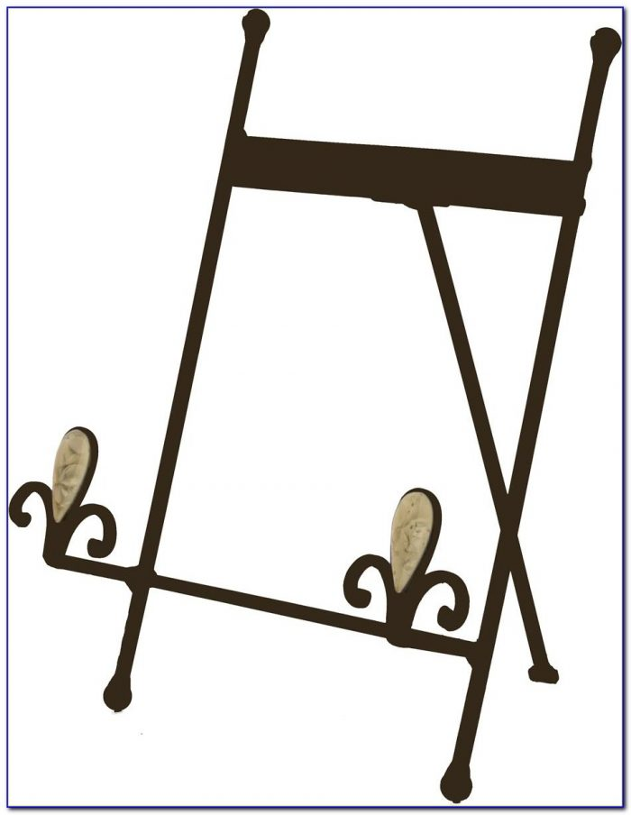 Tabletop Metal Easel Stands