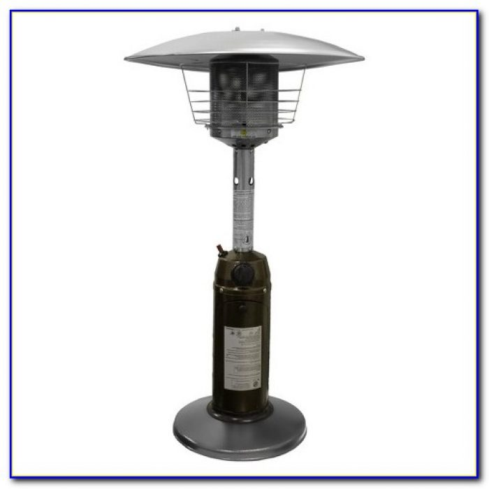 Tabletop Patio Heater Academy
