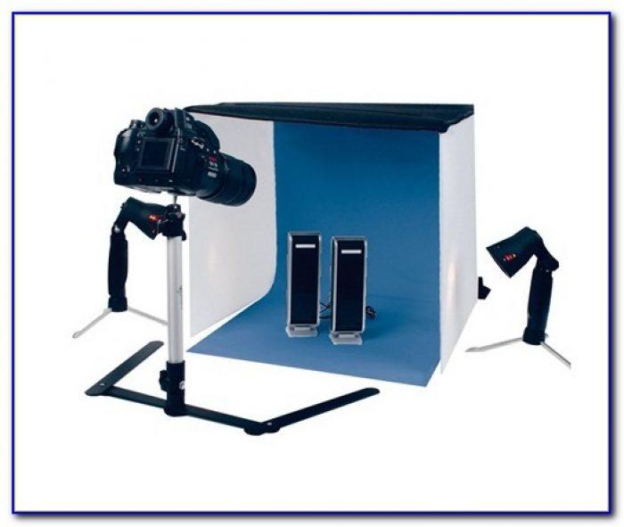 Tabletop Photo Studio Light Tent Kit