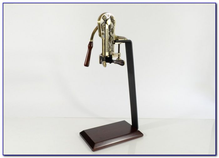 Tabletop Wine Opener With Suction Base